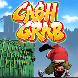 Cash Grab.  The Graphic Novel By Cecil
