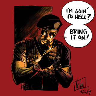 THE EXPENDABLES GO TO HELL Graphic Novel