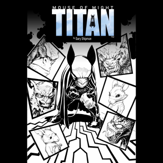TITAN - Mouse of Might #1 Comic Book