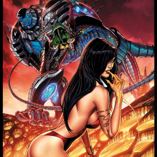 VENGEANCE OF VAMPIRELLA ft. CYBERFROG #1