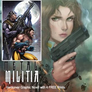 Metal Militia Hardcover Graphic Novel