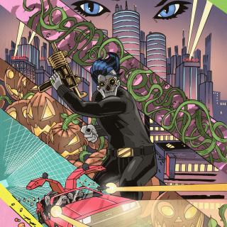 Johnny Phantasm: 1985, 48 pg OVERSIZED Comic Book!