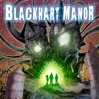BLACKHART MANOR - A 'Lovecraftian' horror-zine