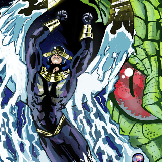 Blue Phoenix Comic