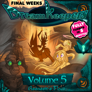 Dreamkeepers Volume 5: Assassin's Flaw