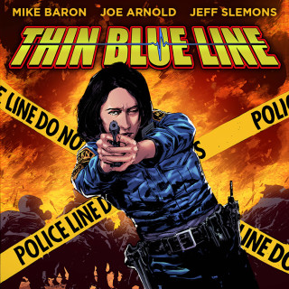 'THIN BLUE LINE' the Graphic Novel by Mike Baron