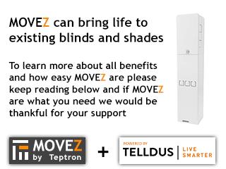 Movez Motorize Blinds And Shades Indiegogo