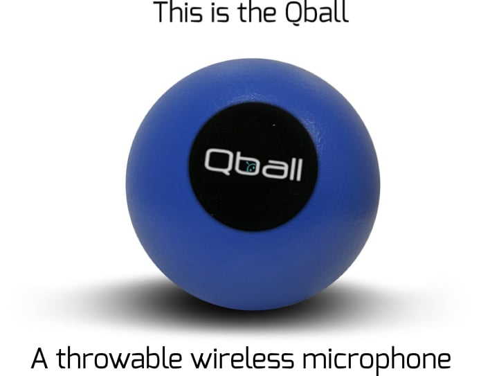 mic for iphone qball microphone you can throw drop or roll indiegogo 2163