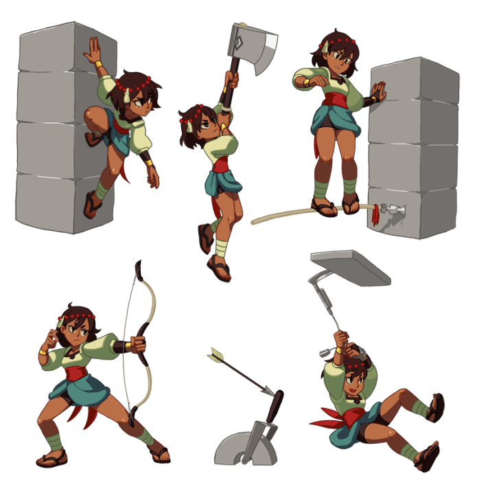 Gaming Info Sites: Indivisible - RPG From The Creators Of Skullgirls