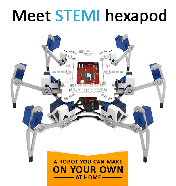 Stemi A Robot You Can Make On Your Own At Home Indiegogo