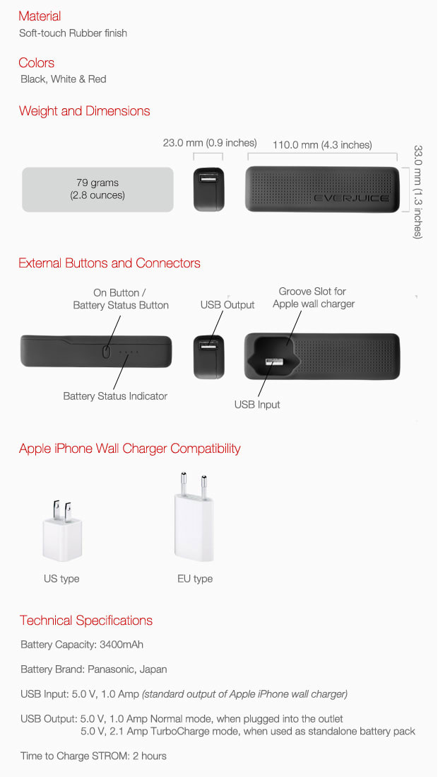 strom  battery upgrade for your apple charger