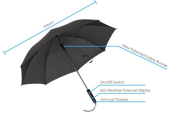 چتر گوشی بلوتوث آبوهوا تکنولوژی