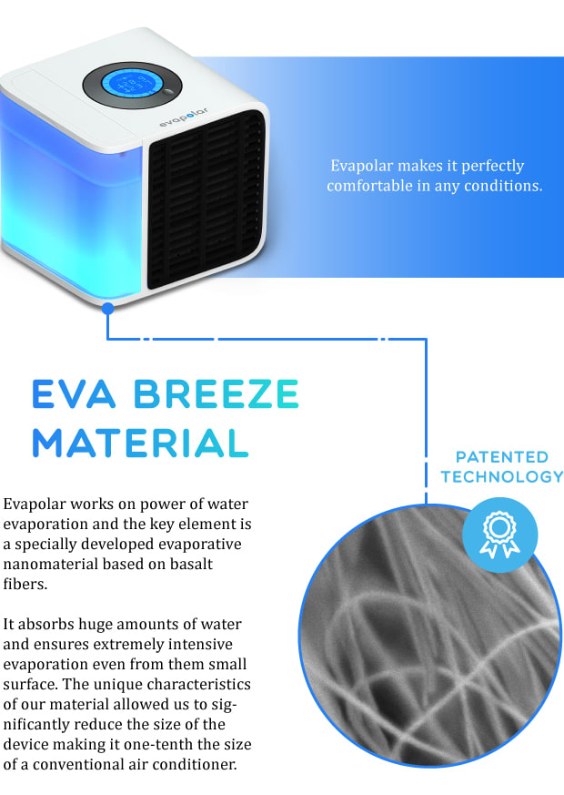 The Main Goal For Us Was To Develop A Device That Is Not Just Safe To Use  But Absolutely Eco Friendly. Evapolar Doesnu0027t Need Freon Or Any Other Toxic  ...