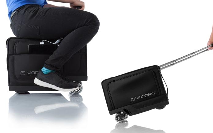 Modobag world 39 s first motorized rideable luggage indiegogo for Motorized ride on suitcase