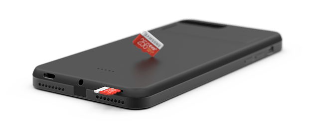 The Sweet Case Comes With An External Sd Card Slot For Memory Expansion It Allows You To Have More Storage Within Your Phone