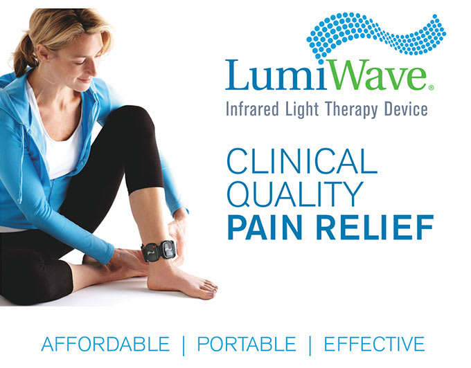 LumiWave: Pain Relief is now In-Demand! | Indiegogo