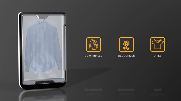 Tersa Steam The 10 Minute Clothing Care System Indiegogo