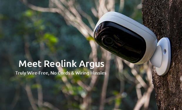 Reolink Argus Truly Wire Free Security Camera Indiegogo