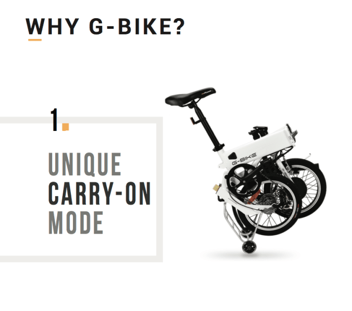 how to carry a bike on go bus