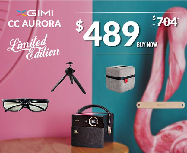 Xgimi Cc Aurora Your Hd Portable Wireless Theatre Indiegogo