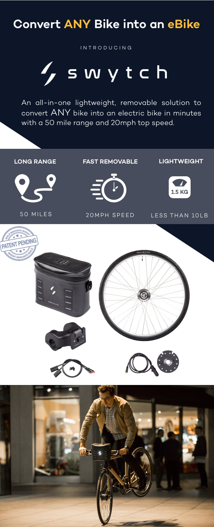 82707009456 It is a spin-off brand of Panda eBikes, the result of 4 years in the eBike  conversion business trying to design a simple, lightweight and universal  eBike ...
