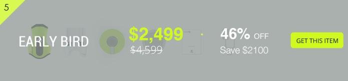 цены для первых покупателей Камера для подводной съемки FIFISH P3-дрон